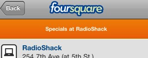 foursquare-radioshack-promotion